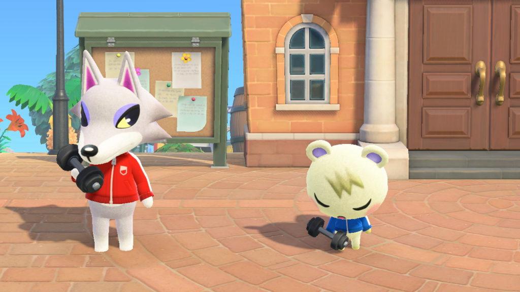 éance de sport matinale pour Pierrot et Mathéo