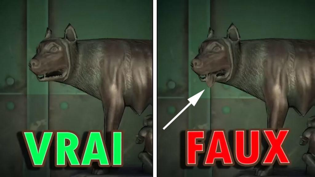Une comparaison entre la vraie et la fausse Statue Maternelle